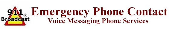 emergency response and disaster recovery dialer